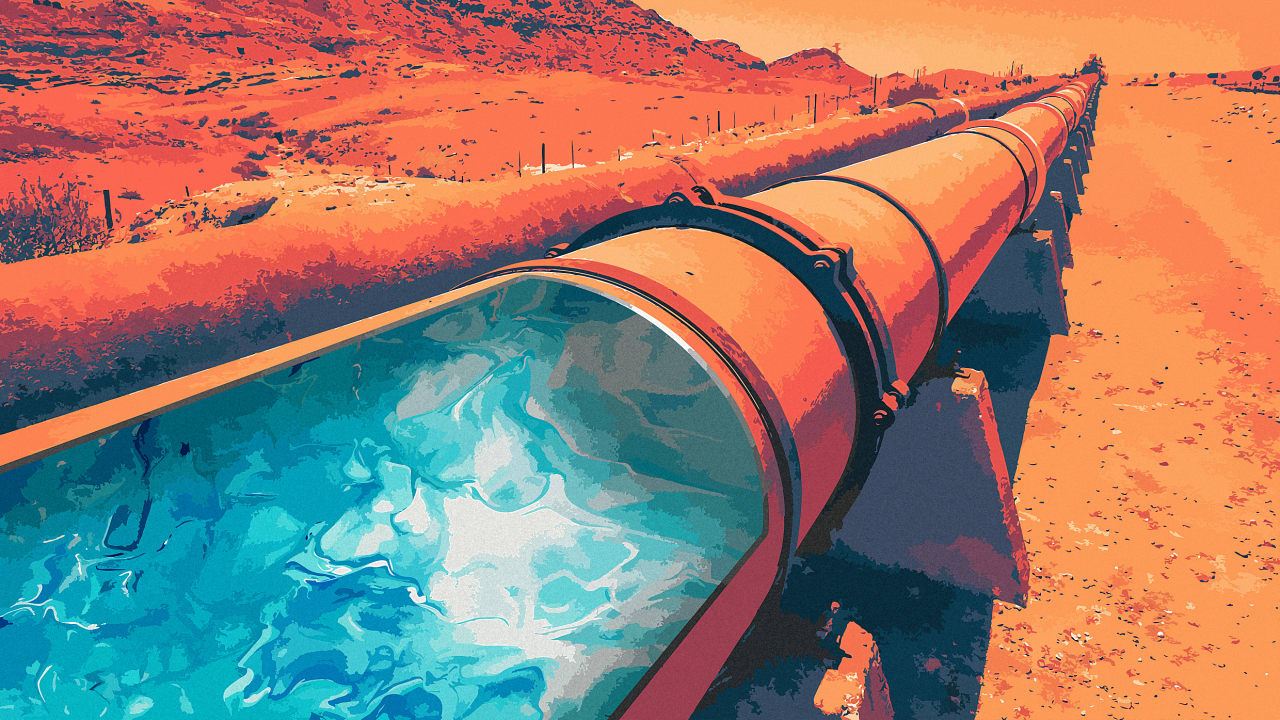 The American West is running out of water—and Big Oil, of all things, can help fix it