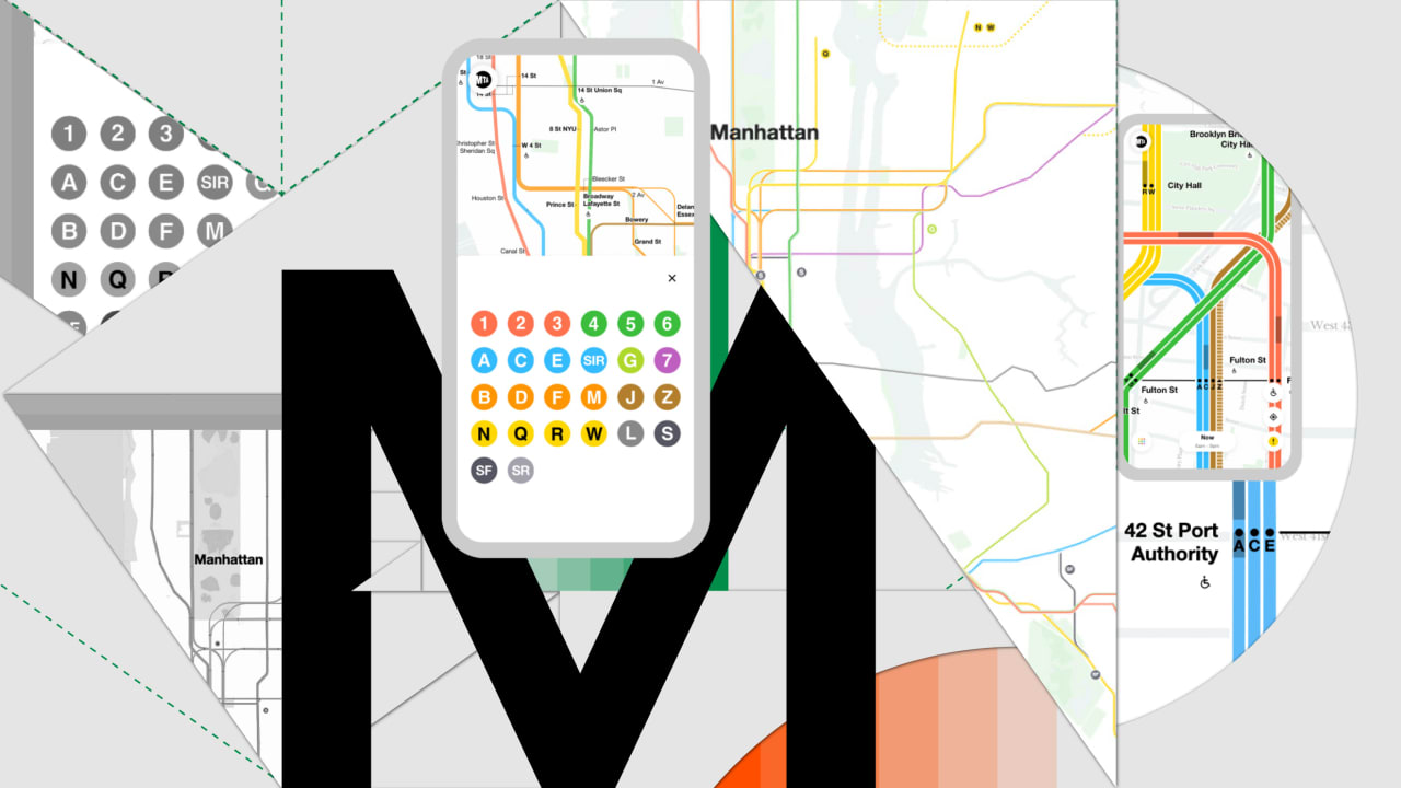 MTA's Live Subway Map is a modern design masterpiece