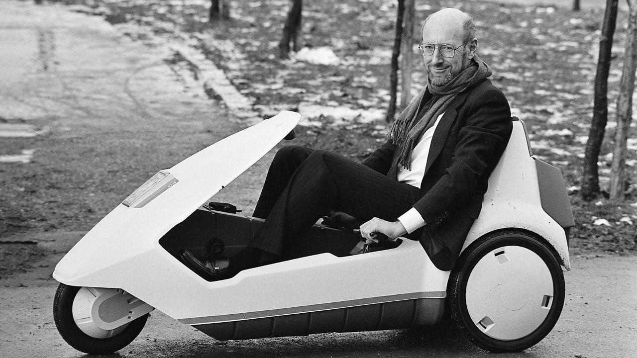 The prescient, quirky legacy of U.K. gadget inventor Clive Sinclair