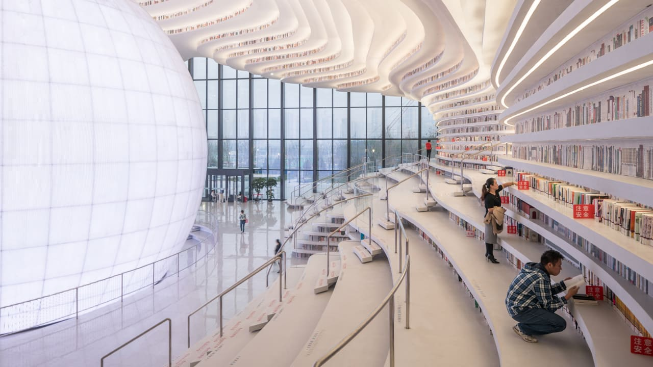 Half Of This Amazing New Library's Books Are Actually Fake
