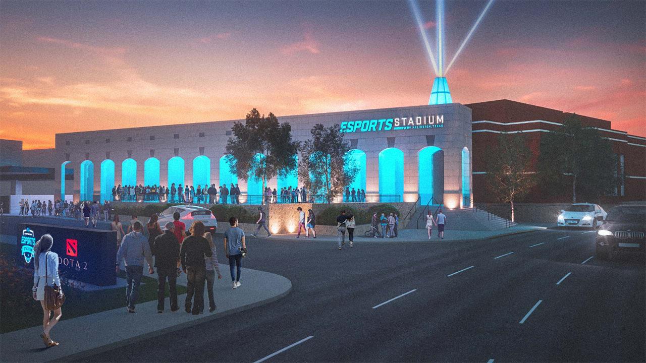 Texas Is Building A Huge Stadium For A Billion-Dollar Sport: Video Games