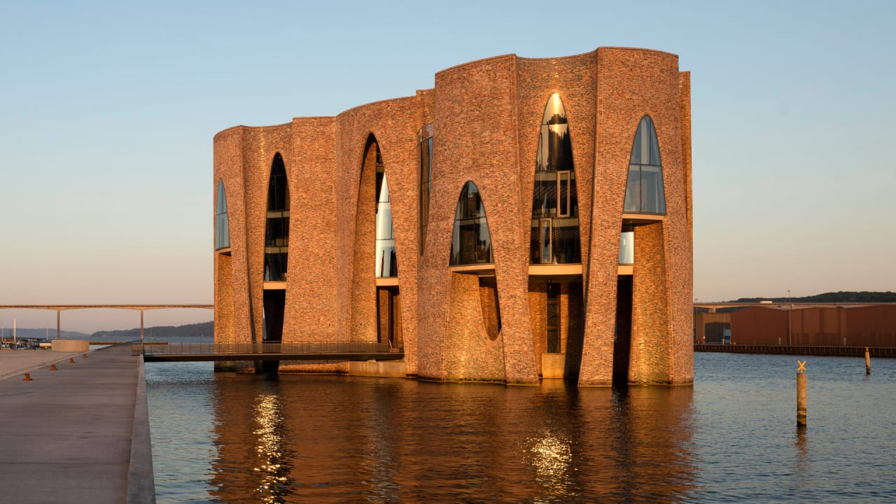 Olafur eliasson s first building is marvelous for Builders first