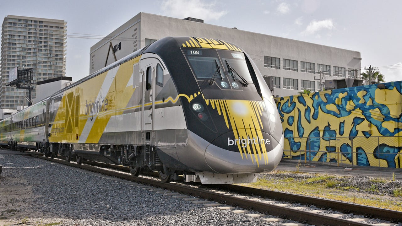 Can this new privately funded train reshape transit in Florida?