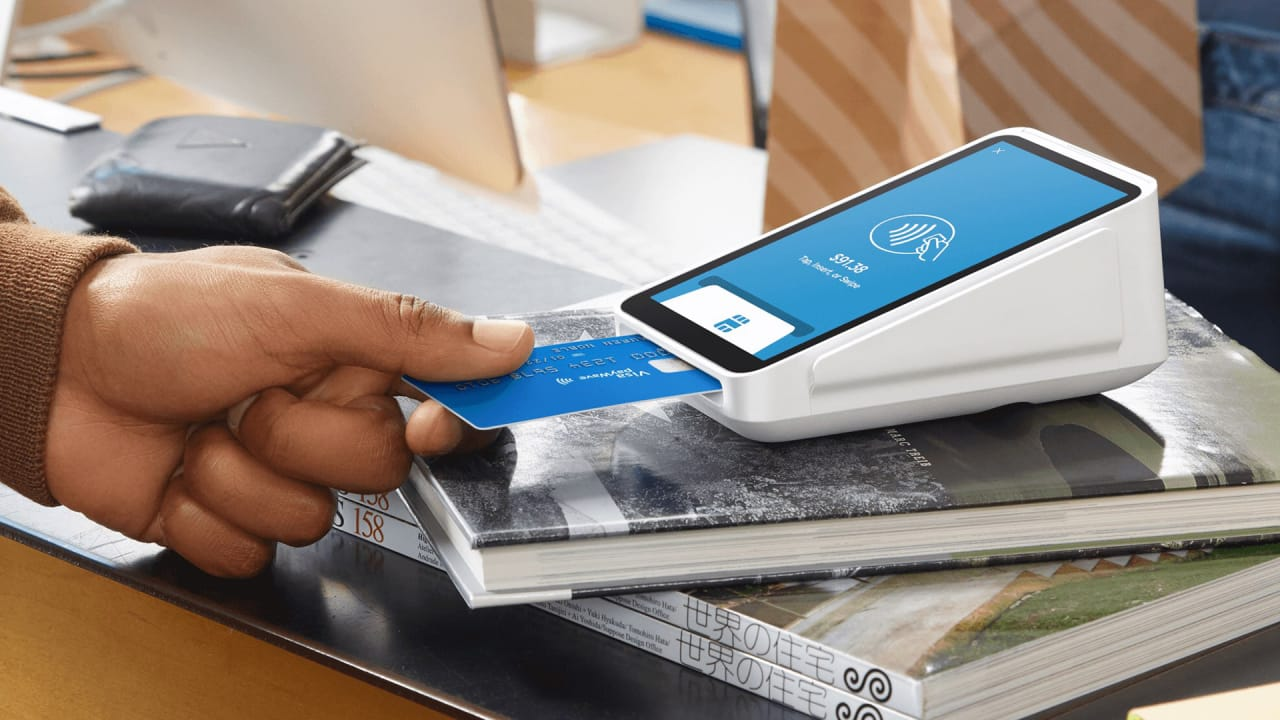 Square takes on the clunky old-school payment terminal