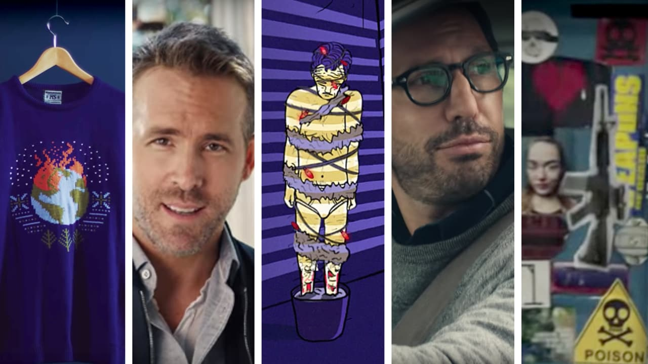 Top 5 Ads Of The Week: Ryan Reynolds sips his gin with tongue in cheek