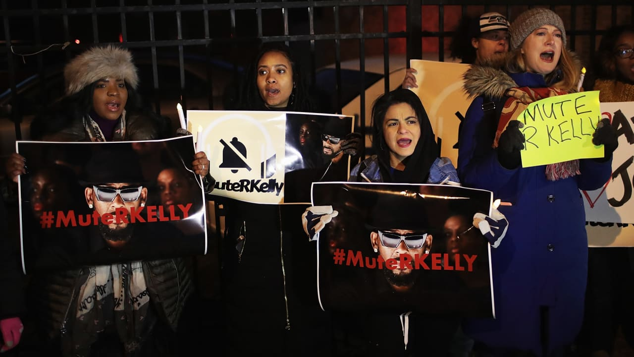 Nobody wants anything to do with R. Kelly–including his label, Sony