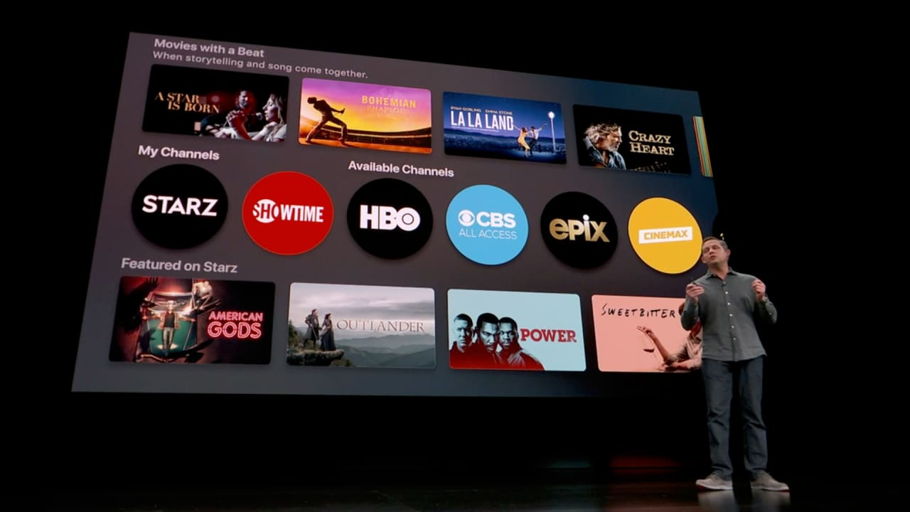 """Apple jumps into subscription video fray with """"TV Channels"""
