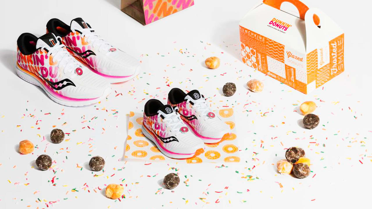 These Dunkin' donut-inspired Saucony sneakers might be the best-ever fast food-footwear collaboration