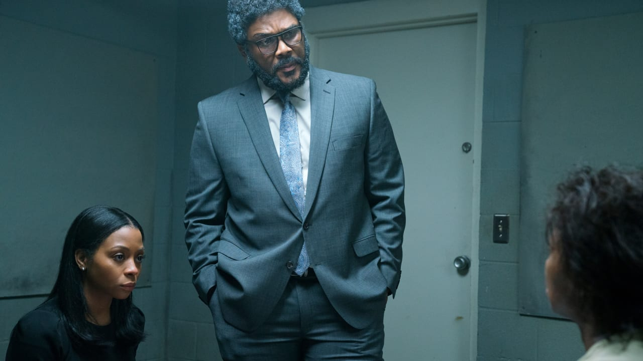 Tyler Perry's Netflix film 'A Fall From Grace' is a messand Twitter has the receipts