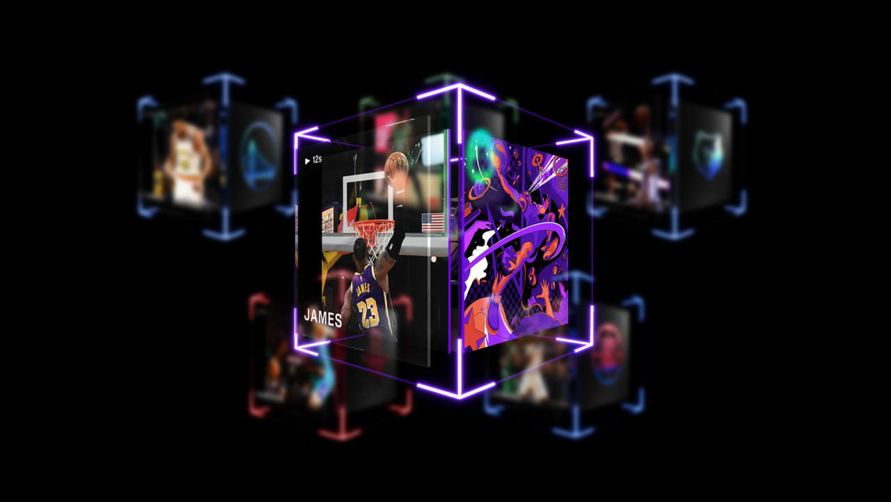 The company behind the NBA's NFT trading cards is now valued at $2.6 billion