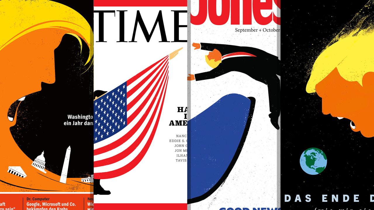 Meet The Preeminent Illustrator Of The Trump Era