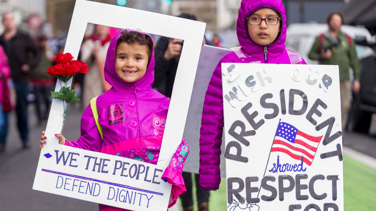 The Best Women's March Signs Were By Kids