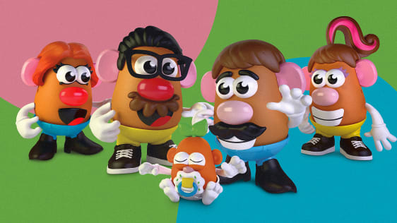Here We Go: Hasbro Drops Genders from Potato Head Toy to be More 'Inclusive'