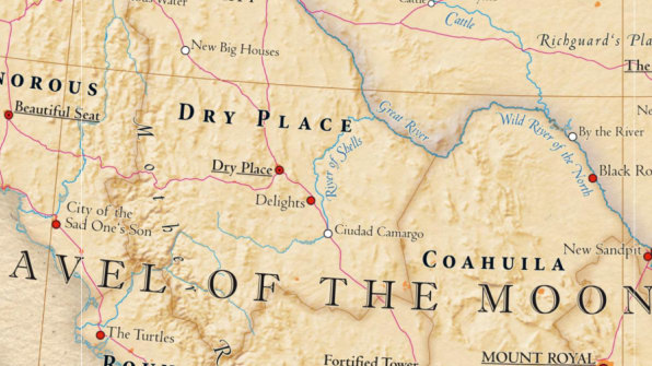 Land of the Pale Faces See an Interactive Map of the US That Uses