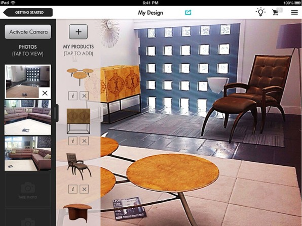 This Crazy App Turns A Magazine Into An Interior Design Tool