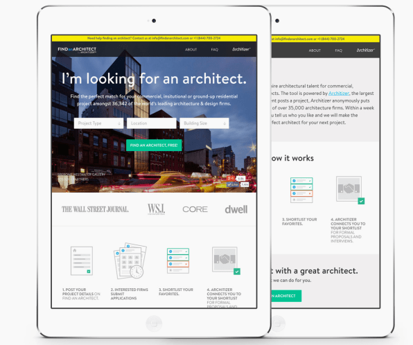Architizer Launches A Matchcom For Architects And Clients