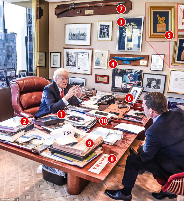 What Trumps Messy Office Reveals About His Leadership Style