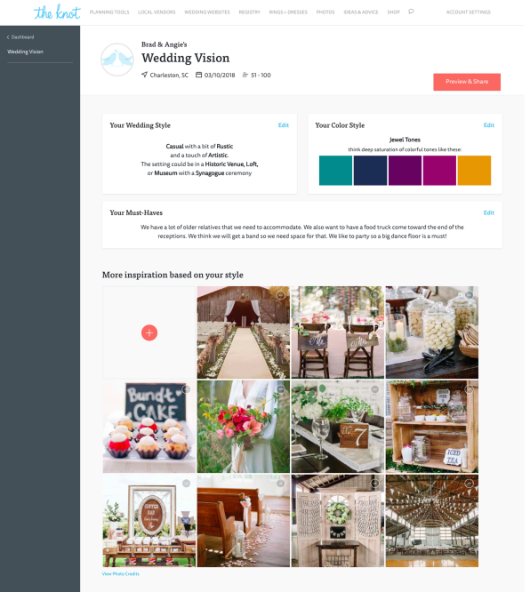 Wedding planning gets a hightech upgrade with The Knots new digital