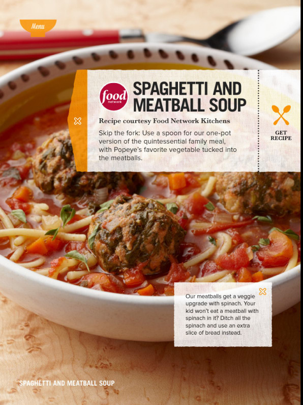 Food network goes back to the future with new cooking apps but the most intriguing thing about soupsbeyond turning mac and cheese or pizza into bowlfuls of spoonable comfortis the potential to go back to the forumfinder Images
