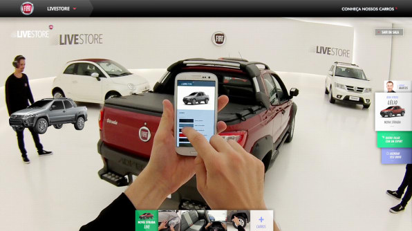 Fiat Brazil Brings The Dealership To Your Home With Live Store - Fiat service