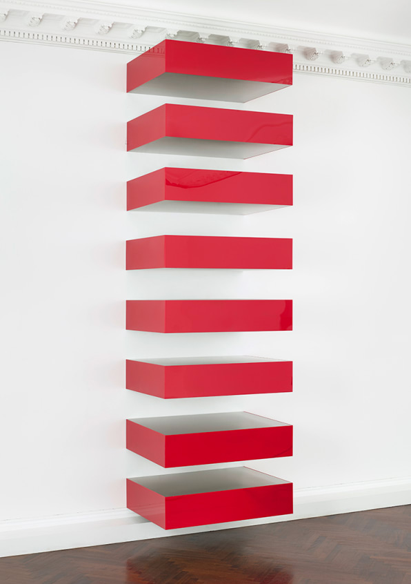 First ever exhibition devoted to donald judd s minimalist for Donald judd stack 1972