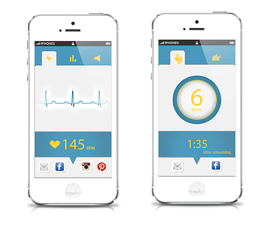 With This Social Baby Heartbeat App The Ultra Sharing