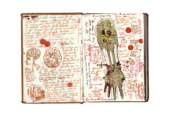 Guillermo Del Toro Sketchbook