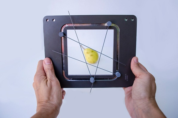 An Analog Art Tool For Making 3-D Objects Flat