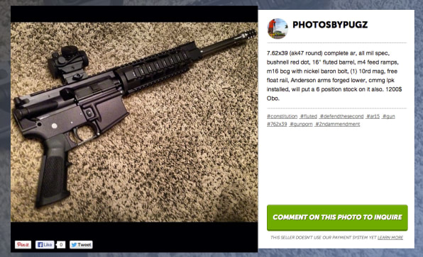 Look At All These Guns People Are Selling On Instagram