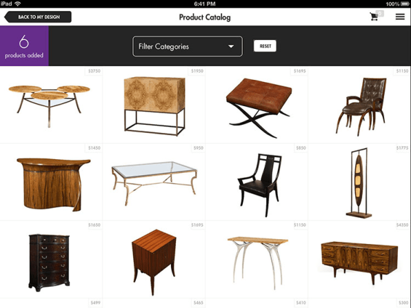While The App Is Free, Lebovitz Plans To Make Money Through Its Store,  Which Will Take A Cut Of Each Sale From The Manufacturer (just Like Any  Furniture ...