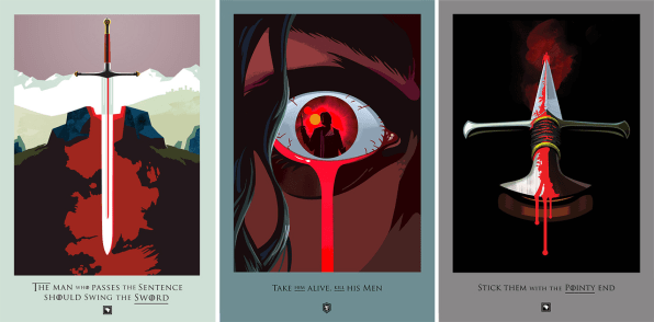 "This Art Series Chronicles Every Beautiful Death In ""Game ..."