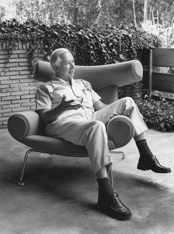 wegner in ox chair