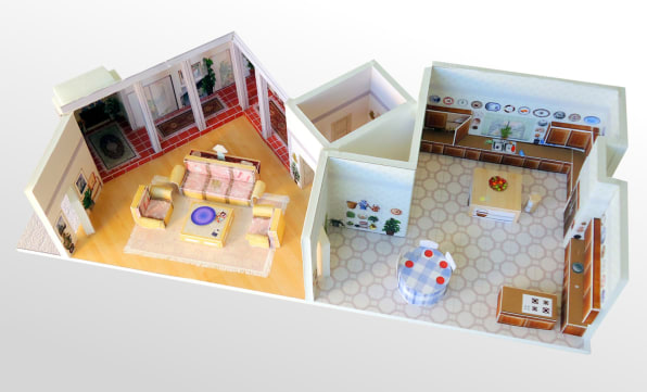show your love of the golden girls and papercraft with these miniature