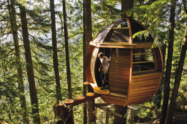 the hemloft whistler bc - Treehouse Masters Inside