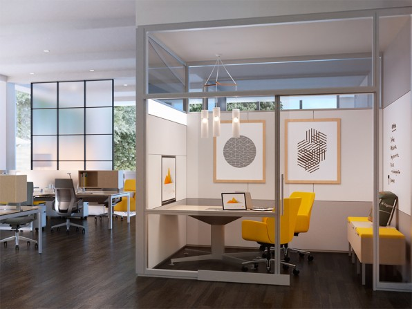 Steelcase and susan cain design offices for introverts for Organizar oficina administrativa