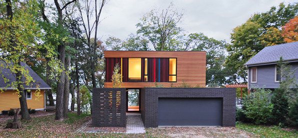 The best small houses of the year for Award winning house designs in india