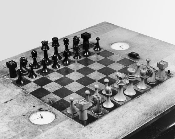 Beautiful Ideas Large Chess Sets. But Duchamp Did Not Entirely Abandon Art  He Designed Two