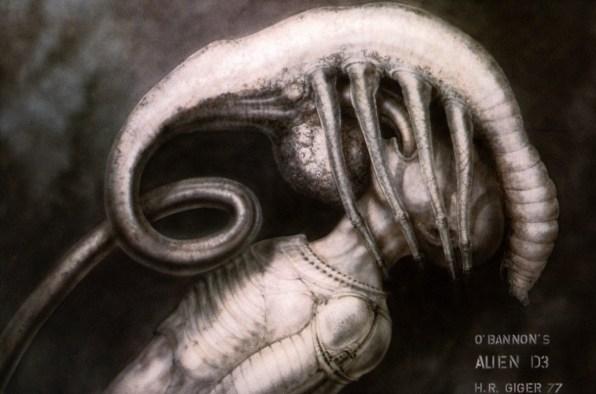 Dan O Bannon S Original Design For The Alien