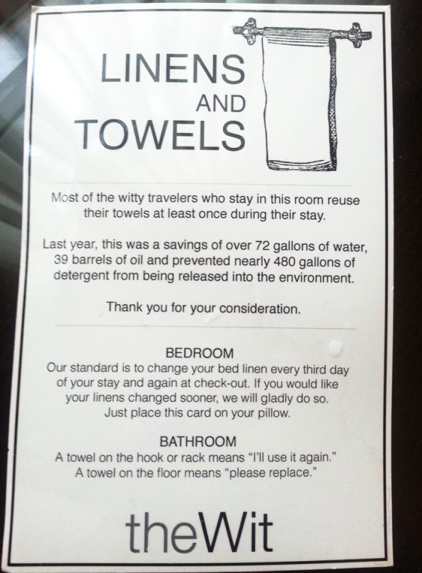 Read About How Hotels Get You To Reuse Towels Everyone S