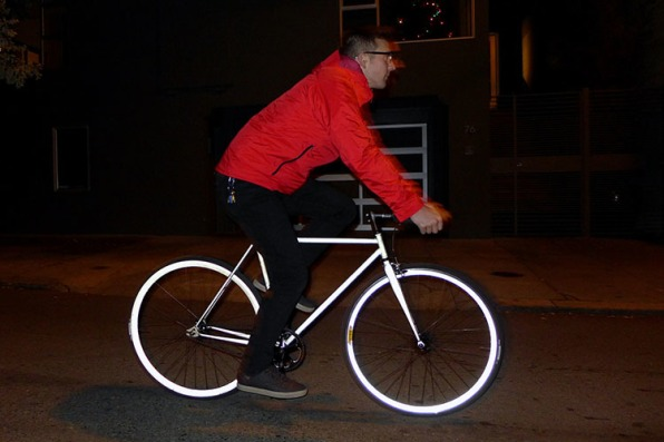 Retroreflective Paint Can Make Your Bike More Beautiful and Safer
