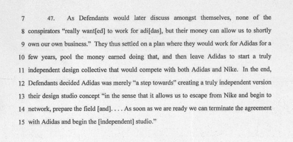 Nike Lawsuit How  Top Designers Allegedly Stole Ip And Left For Adid
