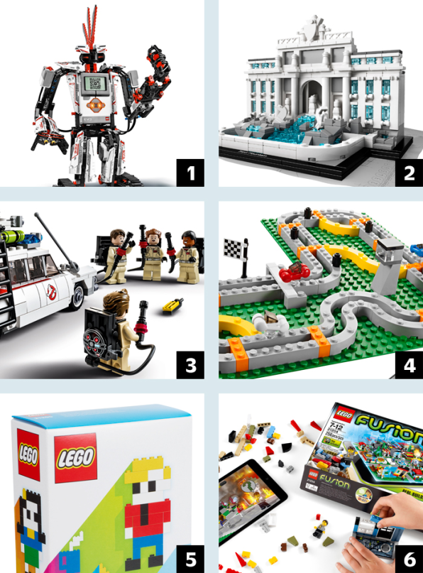 How Lego Became The Apple Of Toys - Clever print ads from lego show children building their own future