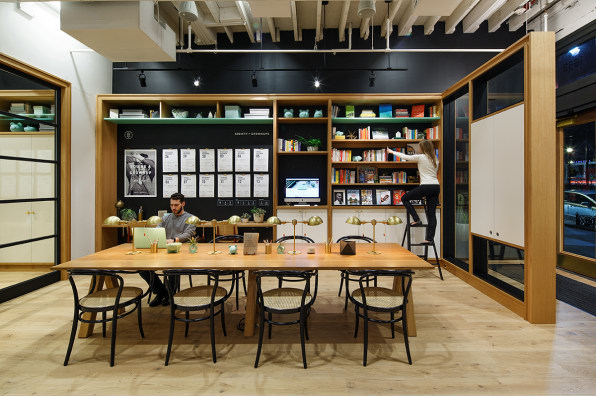 Where millennials learn about money over plates of for Ideo san francisco