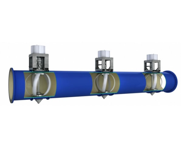 Portland s new pipes harvest power from drinking water for New water pipes