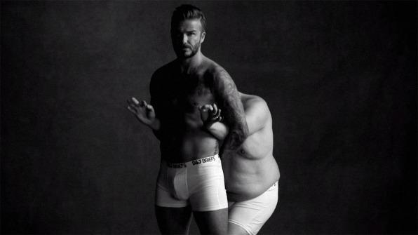 David Beckham Shirt Off