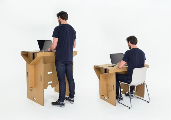 Refold And Since Neither Standing Nor Treadmill Desks
