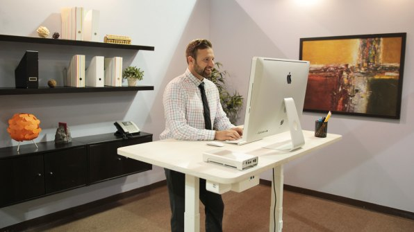stand desk standing adjustable ways sitting sit patterns to build and guide