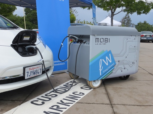 This Mobile Charging Station Runs On Scrapped Batteries And Comes Righ
