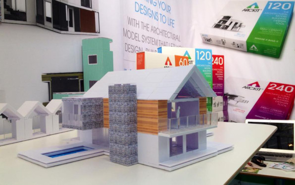 a slick architectural model kit with infinite components