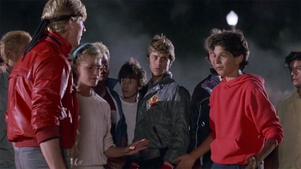the karate kid bullying That bully johnny from the karate kid is speaking out against bullying.